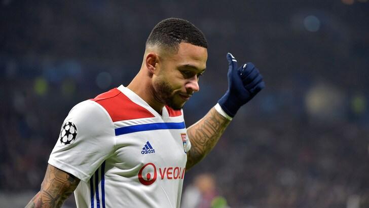 Depay: «Addio Lione, voglio giocare in un top club»