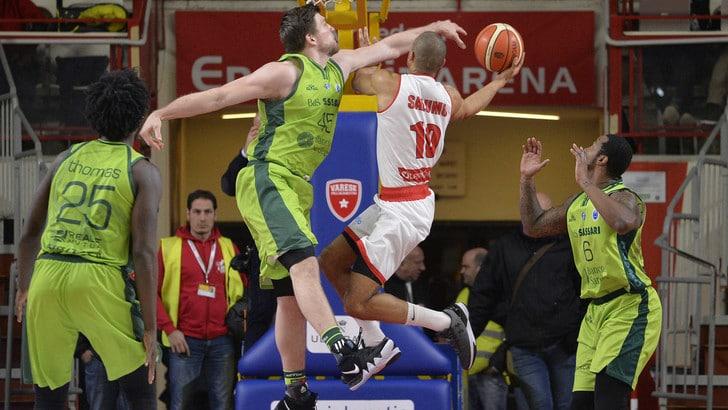 Basket Eurocup, Girone K: a Sassari il derby con Varese