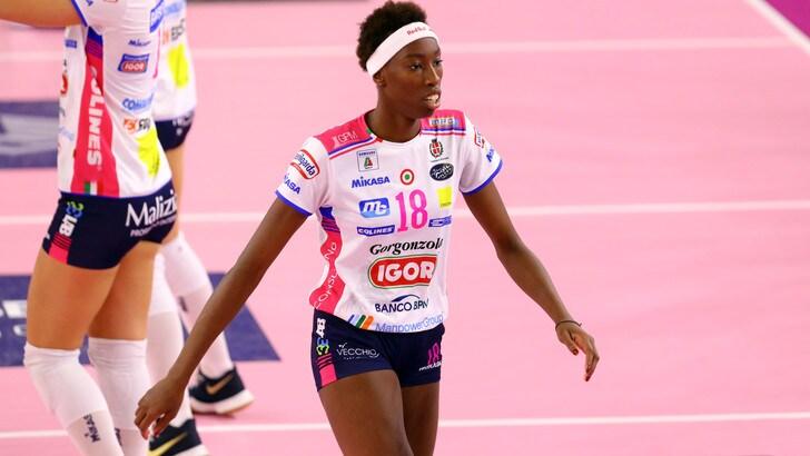 Volley: A1 Femminile, Novara supera il Club Italia e raggiunge Conegliano