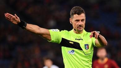 Coppa Italia Fiorentina-Atalanta, cambia l'arbitro: Giacomelli al posto di Doveri