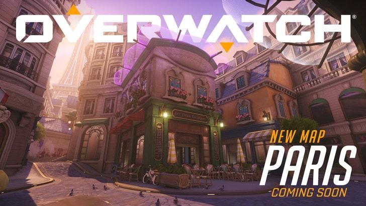 Overwatch: arriva la mappa di Parigi