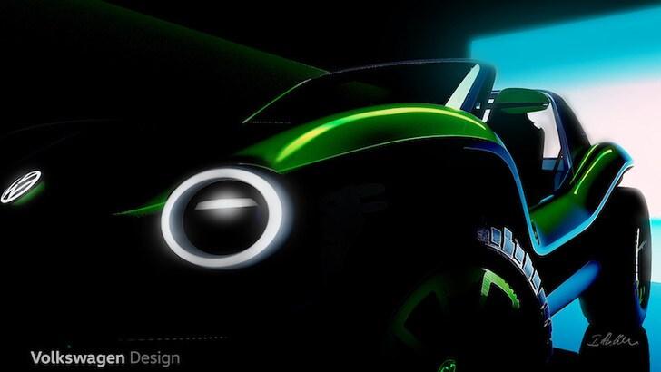 Salone di Ginevra, Volkswagen porta in buggy elettrico