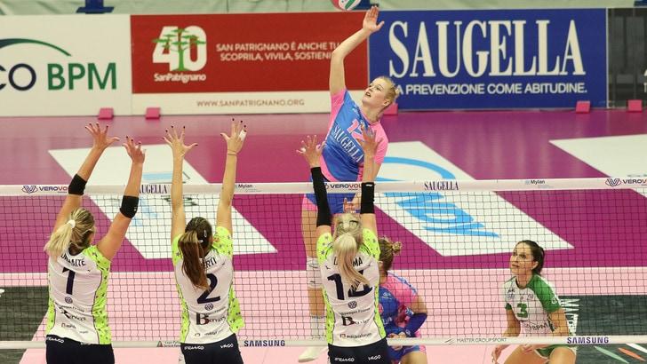 Volley: A1 Femminile, Monza dall'Inferno al Paradiso, da 0-2 a 3-2