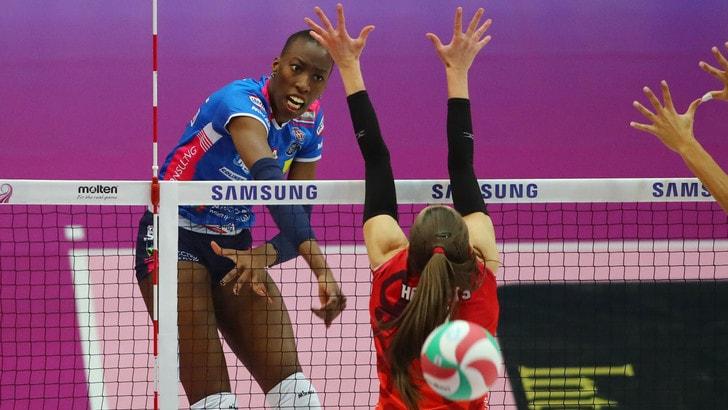 Volley: Coppa Italia A1 Femminile, Novara schianta Busto e va in finale