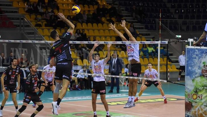 Volley: Superlega, vittorie da tre punti per Trento, Civitanova, Latina e Milano