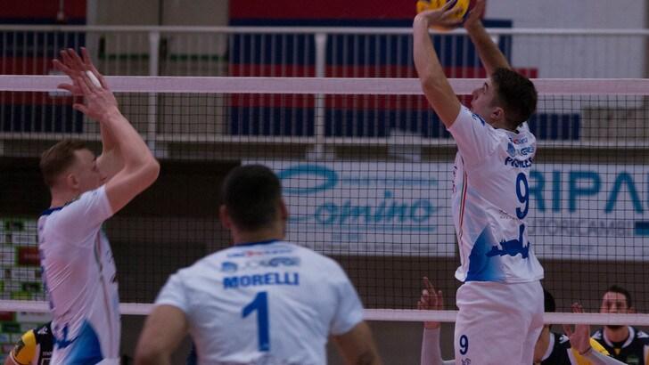 Volley: A2 Maschile, Girone Bianco, Mondovì batte Spoleto, Brescia torna alla vittoria