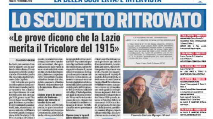 Lazio, lo scudetto ritrovato