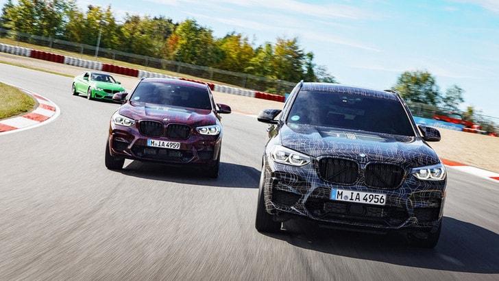 BMW X3 M e X4 M, pronte al debutto al Salone di Ginevra