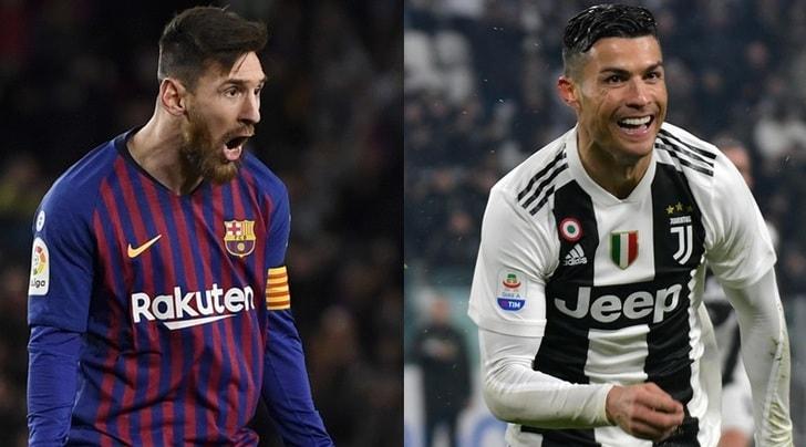 e7e704b51 Scarpa d'Oro, Messi e Cristiano Ronaldo show e il portoghese sale sul podio  - Tuttosport