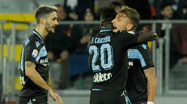 Serie A, Frosinone-Lazio 0-1: zampata di Caicedo, Inzaghi è quinto
