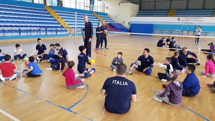 Sitting Volley: Montesilvano ha ospitato il raduno della nazionale maschile