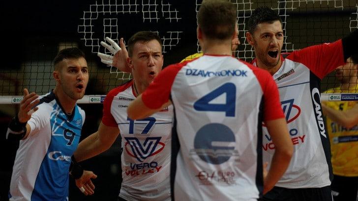 Volley: Superlega, si recuperano Monza-Vibo e Sora-Siena