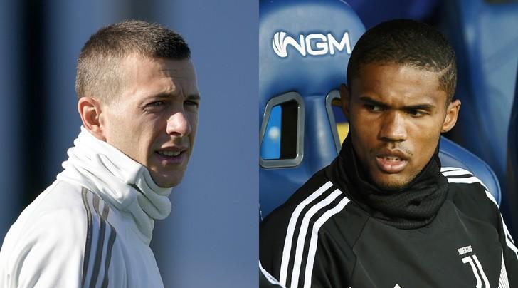 Juventus, Bernardeschi in gruppo ma Douglas Costa non si è allenato
