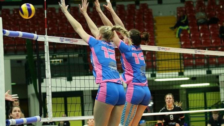 Volley: Challenge Cup Femminile, Monza demolisce il Calcit in tre set