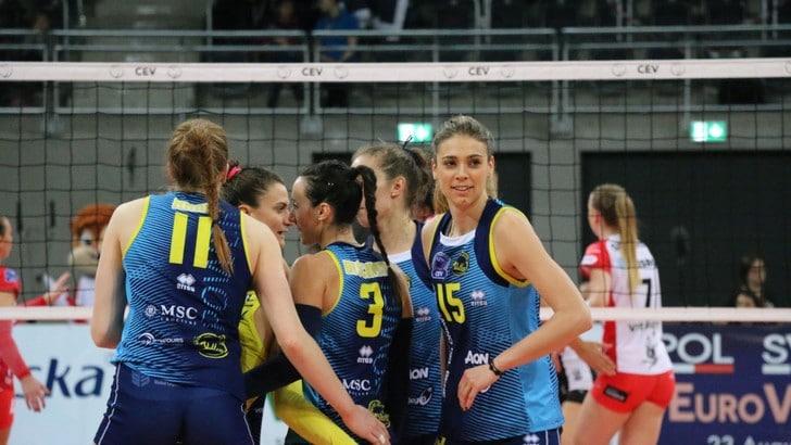 Volley: Champions Femminile, Scandicci vince a Lodz e rafforza il primato