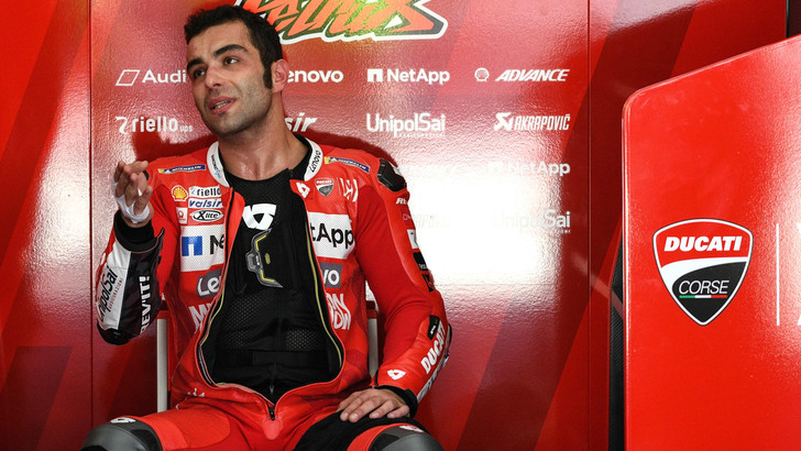 MotoGp Ducati, Petrucci: «Ottimo lavoro nei test»