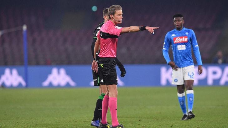 Serie A, Lazio-Empoli sarà arbitrata da Chiffi