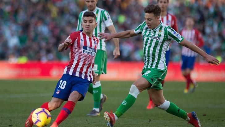 Coppa del Re: Betis-Valencia, avanti i biancoverdi