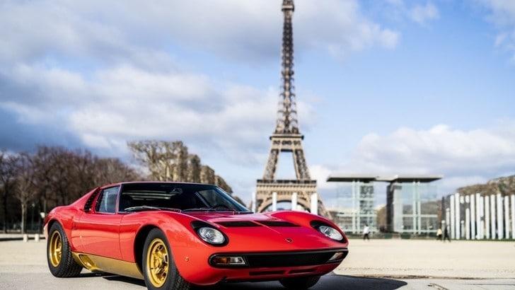 Lamborghini Miura SVJ, restaurata quella di Jean Todt