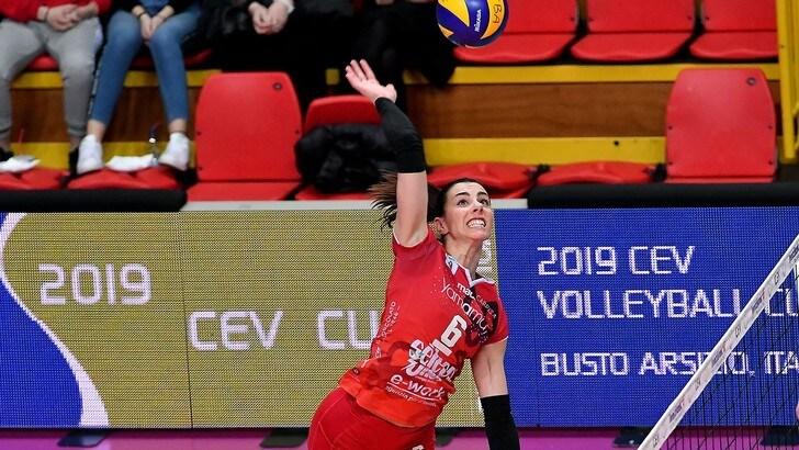 Volley: Cev Cup, UYBA senza problemi con il Mulhouse