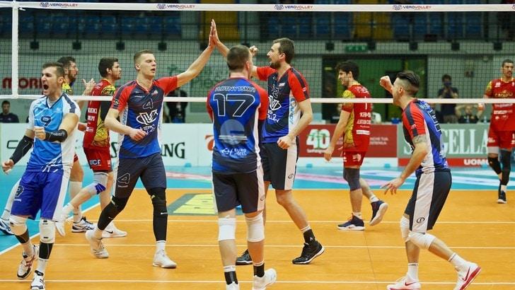 Volley: Superlega, per Monza primo successo del 2019, battuta Vibo