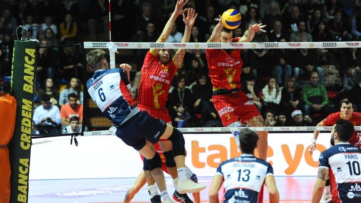 Volley: Coppa Italia A2 Maschile, Bergamo-Piacenza per alzare il trofeo