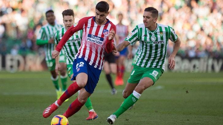 Liga, Atletico-Real: il gol di Morata vale 2,65