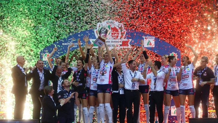 Volley: Coppa Italia Femminile, per le finali ascolti record in TV