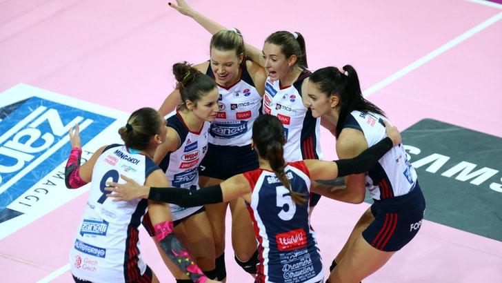 Volley: A1 Femminile, con Bergamo-Brescia riparte il campionato