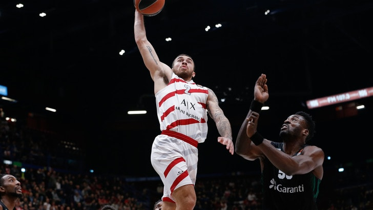 Basket, Eurolega: tris dell'Olimpia Milano, battuto anche il Darussafaka