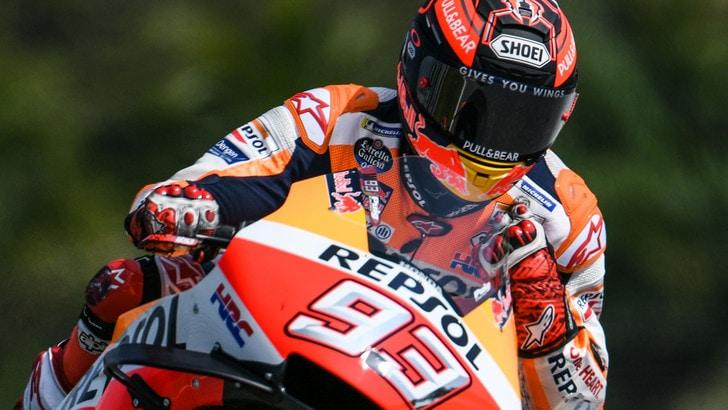 MotoGp Honda, Marquez: «Ho lavorato solo sull'accelerazione»