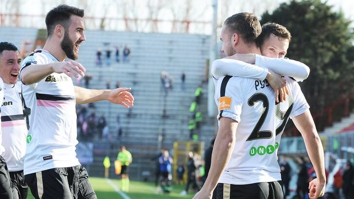 Serie B Palermo, Puscas: «Vittoria a Perugia più importante della mia doppietta»