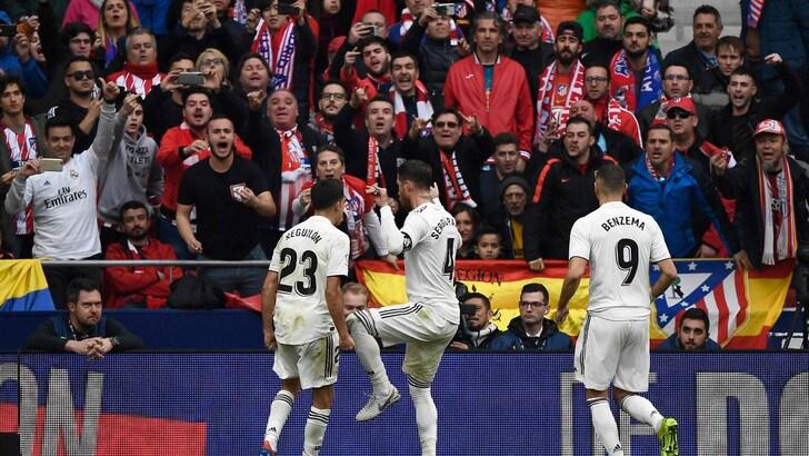 Liga: Juventus, così si batte l'Atletico Madrid. Il Real domina il derby