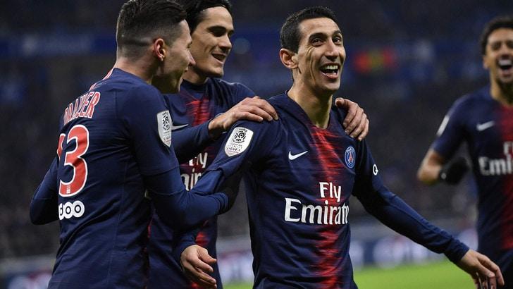 Ligue 1, il Paris Saint-Germain piega il Bordeaux: Cavani segna e si fa male