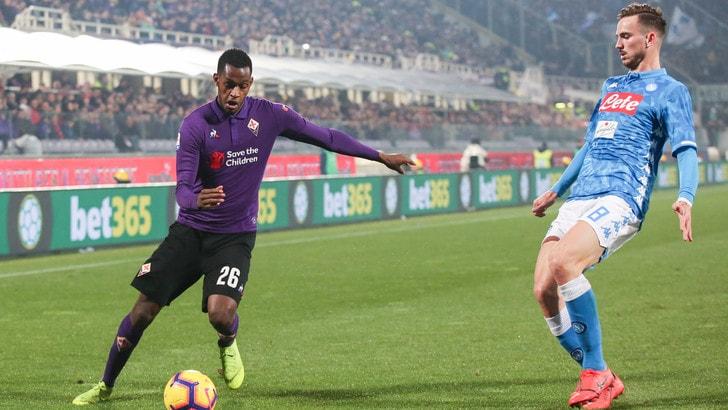 Serie A Fiorentina-Napoli 0-0, il tabellino
