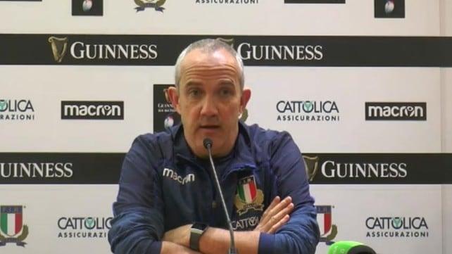 """O'Shea: """"Lavoriamo per colmare il gap"""""""