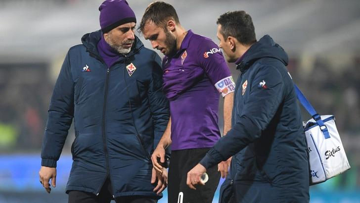 Serie A Fiorentina, trauma contusivo al ginocchio per Pezzella