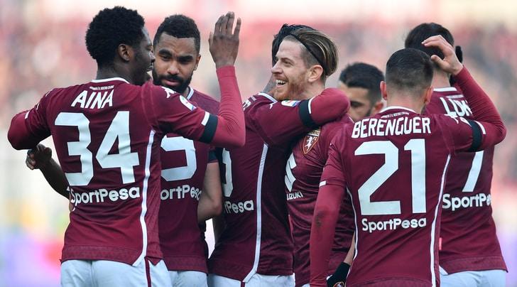 Il Toro batte l'Udinese: ora è 8°! Gol di Aina, Sirigu para un rigore