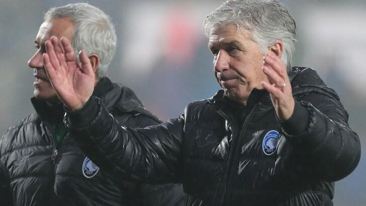 Serie A Atalanta, Gasperini: «La classifica è bella, ma per l'Europa aspettiamo 6 o 7 partite»