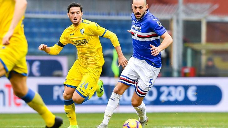 Serie A Frosinone, per Cassata lavoro a parte