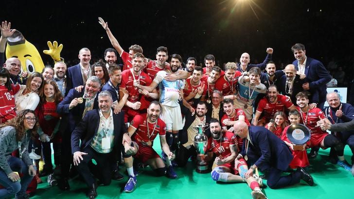 Volley: Coppa Italia di A2, è festa Piacenza