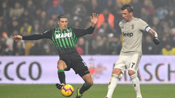 Serie A Sassuolo-Juventus 0-3, il tabellino