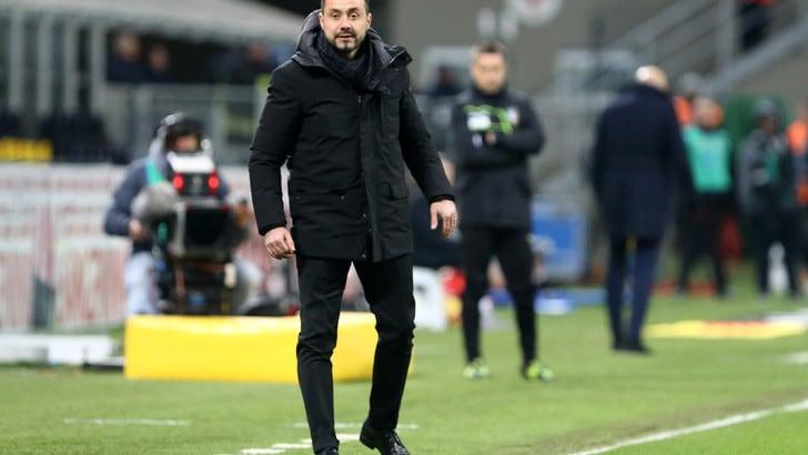 Serie A Sassuolo, De Zerbi: «Abbiamo perso contro dei campioni»