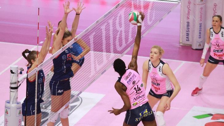 Volley: A1 Femminile, cade Scandicci, per Novara e Conegliano vittorie piene