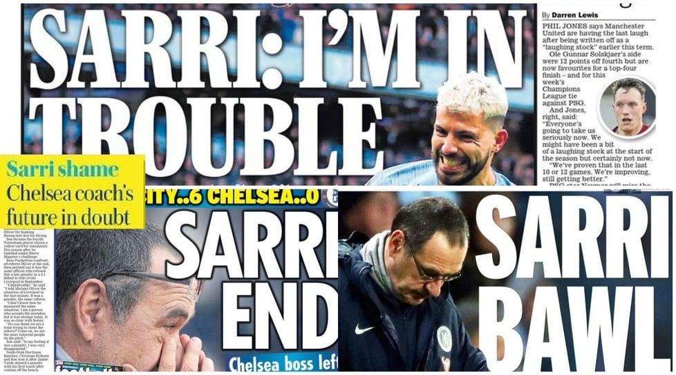 Dopo il 6-0 subito dal City l'allenatore del Chelsea potrebbe essere esonerato