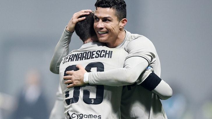 Serie A, capocannoniere: Ronaldo re dei bomber a 1,40