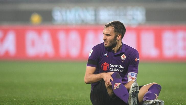 Serie A Fiorentina, lesioni per Pezzella e Mirallas