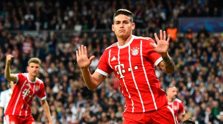 Marca: «James Rodriguez tra Real e Juventus»