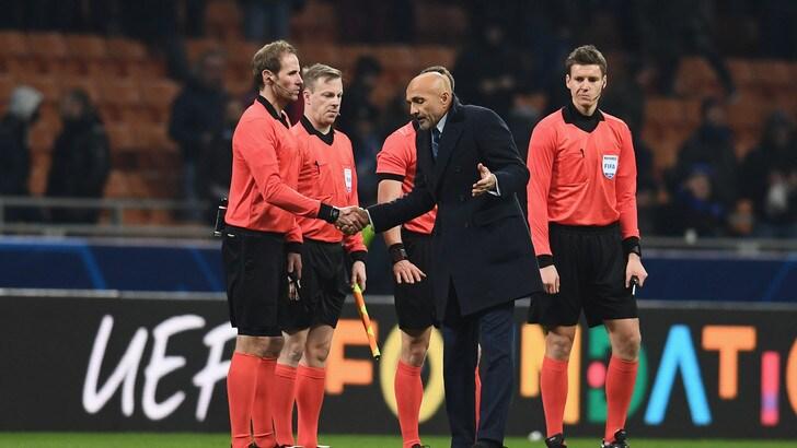 Europa League, gli arbitri di Inter, Napoli e Lazio