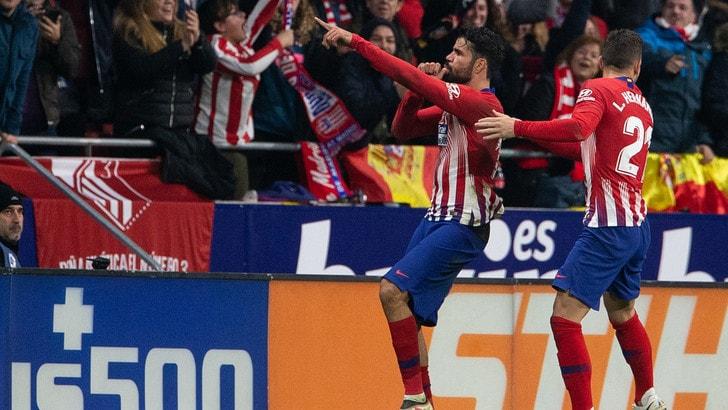Champions, situazione Atletico Madrid: Diego Costa e Savic in gruppo